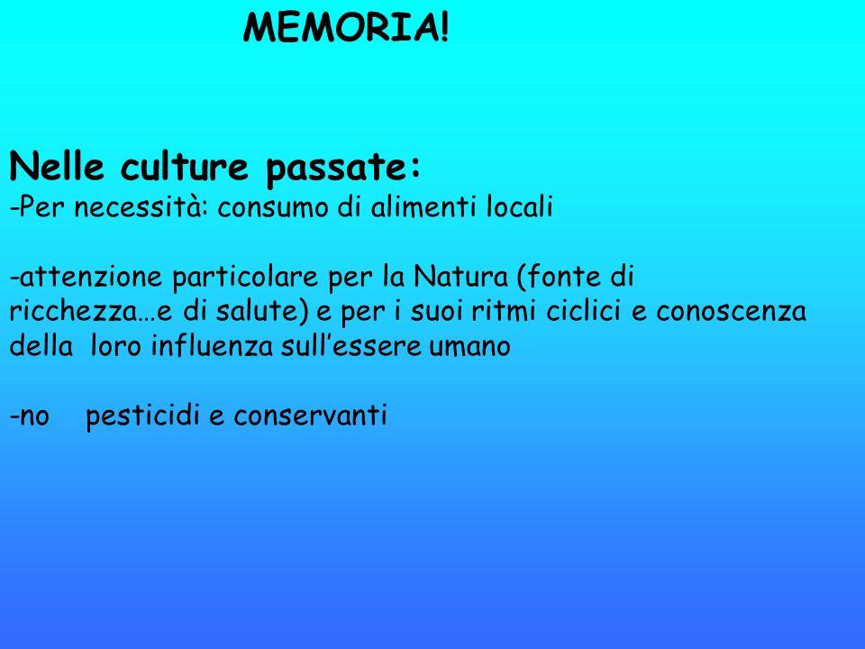 Nelle culture passate:
