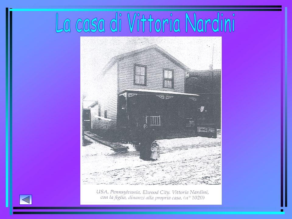 La casa di Vittoria Nardini
