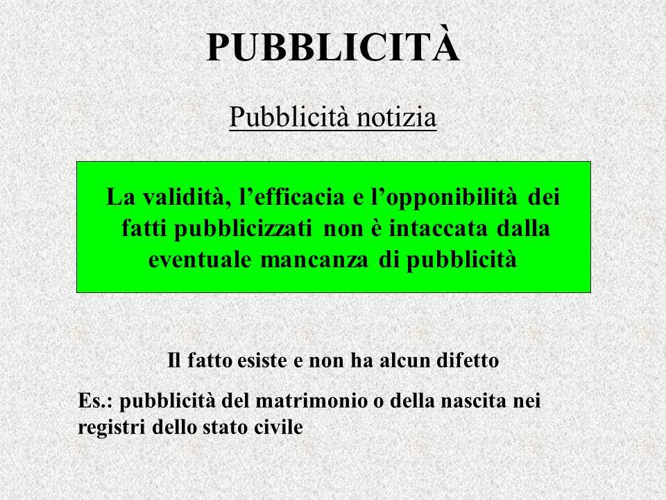 PUBBLICITÀ Pubblicità notizia