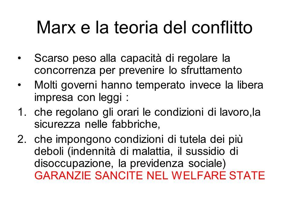 Marx e la teoria del conflitto
