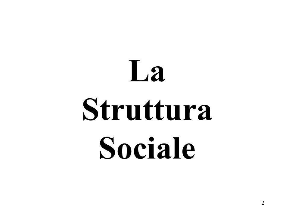 La Struttura Sociale