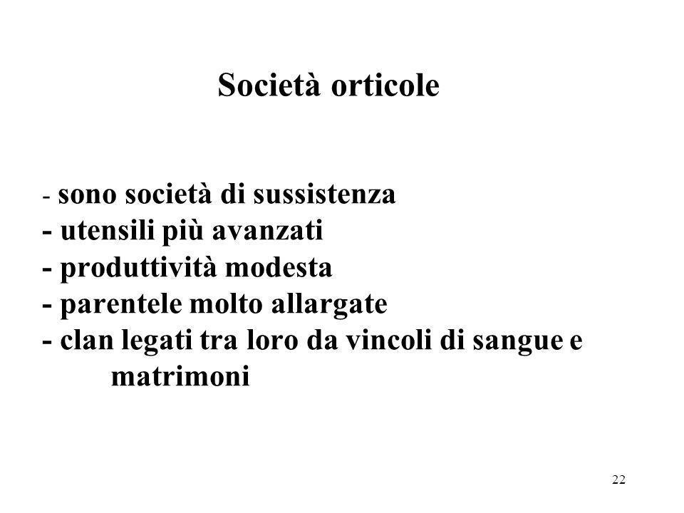 Società orticole