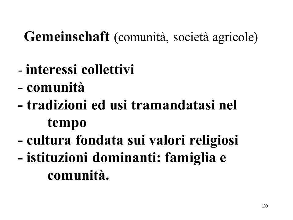 Gemeinschaft (comunità, società agricole)