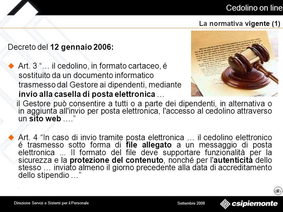 La normativa vigente (1)