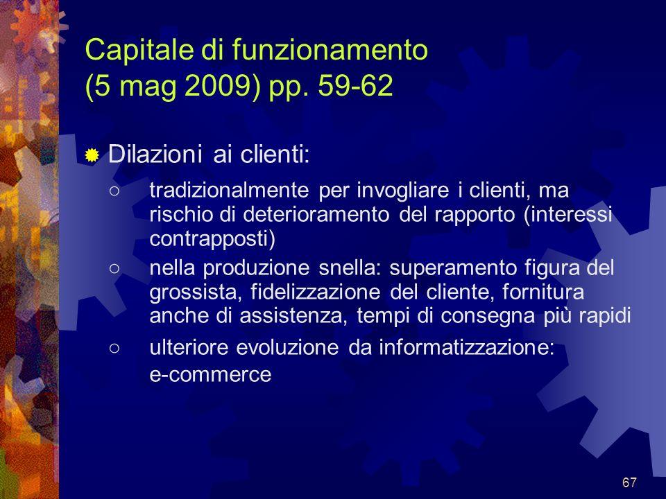 Capitale di funzionamento (5 mag 2009) pp. 59-62