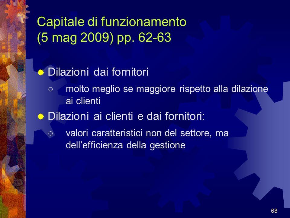 Capitale di funzionamento (5 mag 2009) pp. 62-63