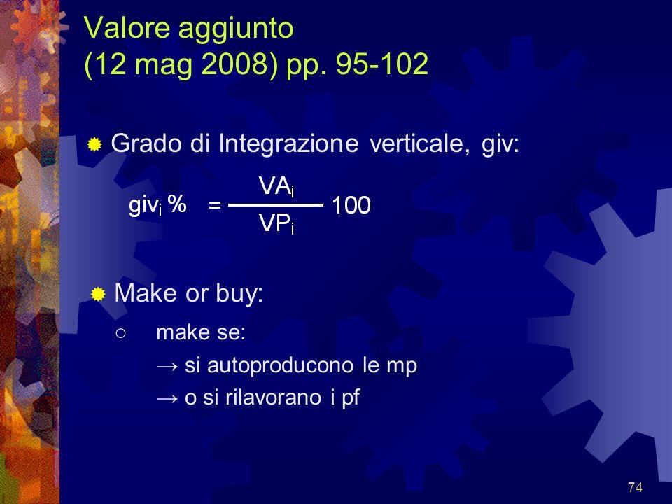 Valore aggiunto (12 mag 2008) pp. 95-102