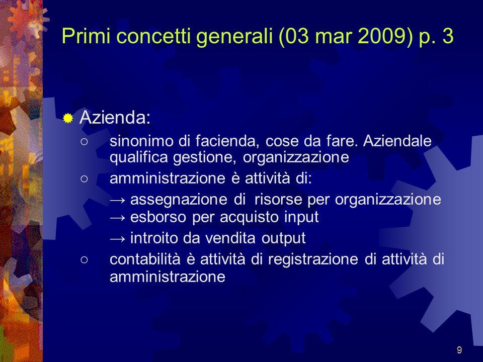 Primi concetti generali (03 mar 2009) p. 3