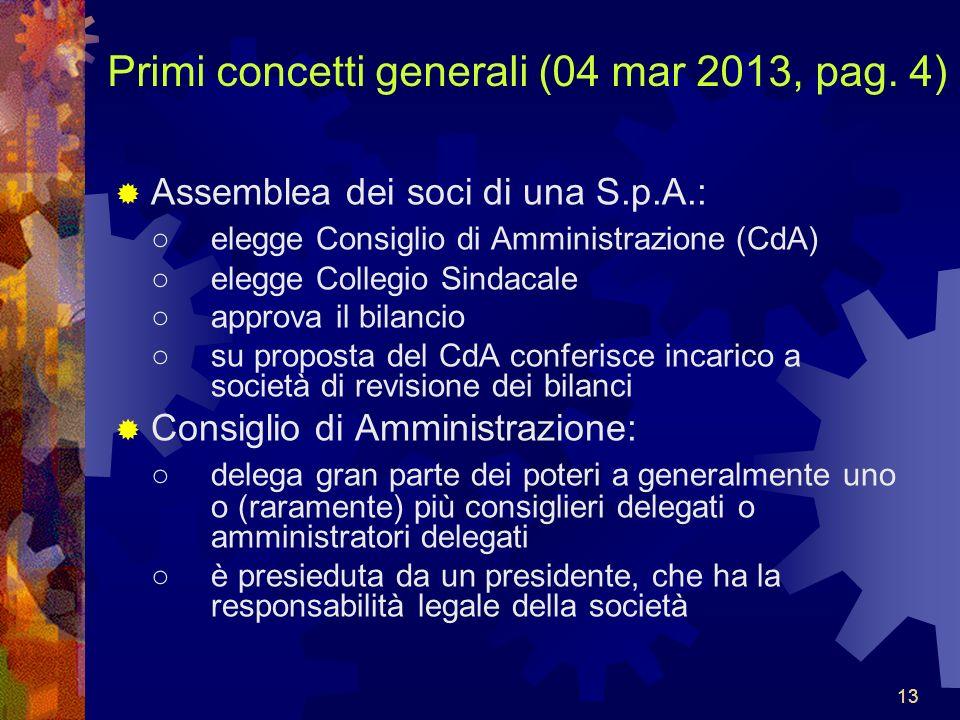Primi concetti generali (04 mar 2013, pag. 4)