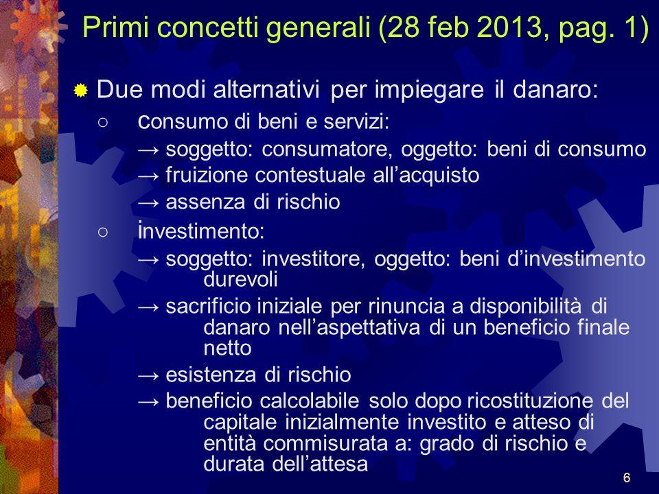 Primi concetti generali (28 feb 2013, pag. 1)