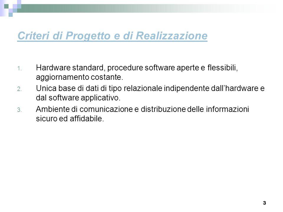 Criteri di Progetto e di Realizzazione
