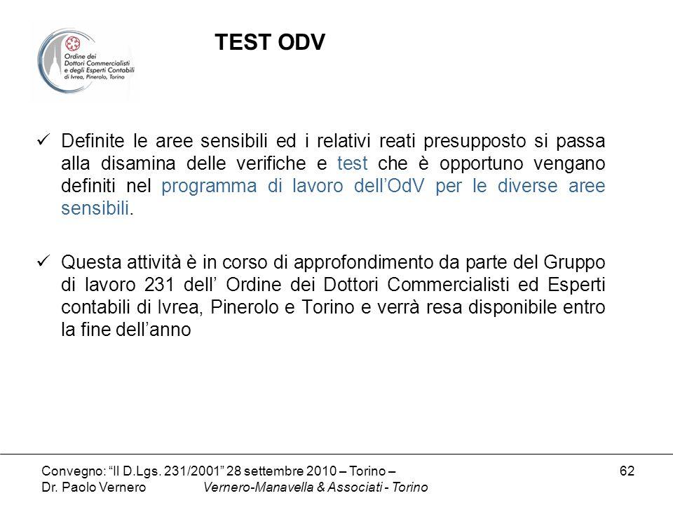 TEST ODV