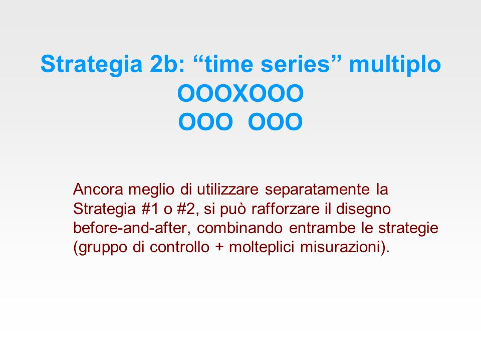 Strategia 2b: time series multiplo OOOXOOO OOO OOO