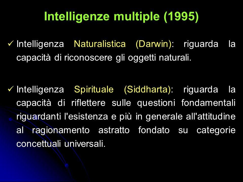 Intelligenze multiple (1995)