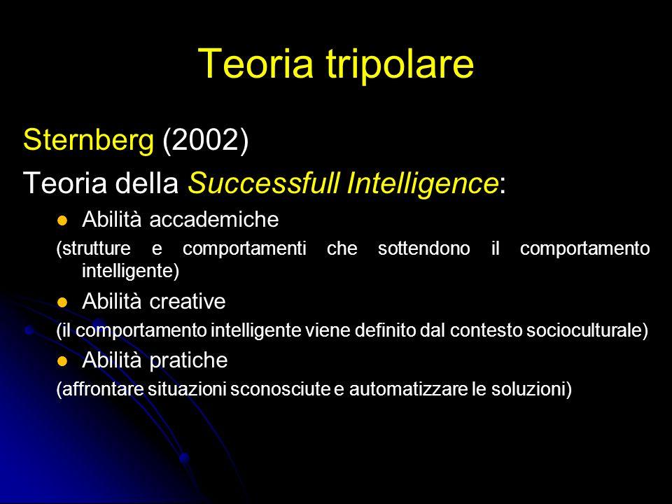 Teoria tripolare Sternberg (2002)