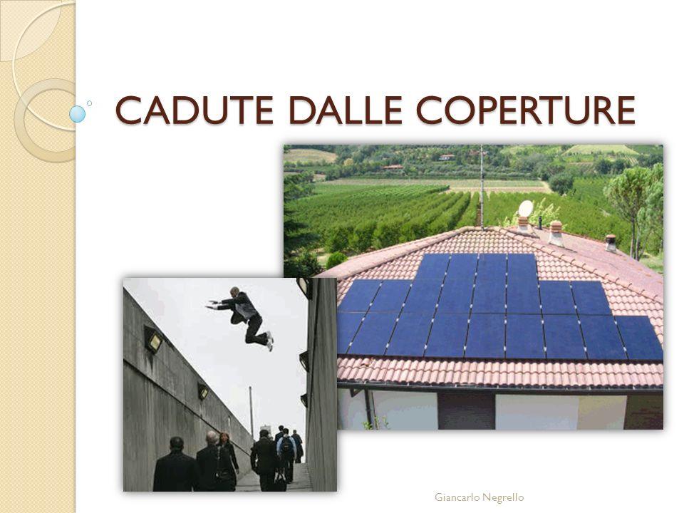 CADUTE DALLE COPERTURE