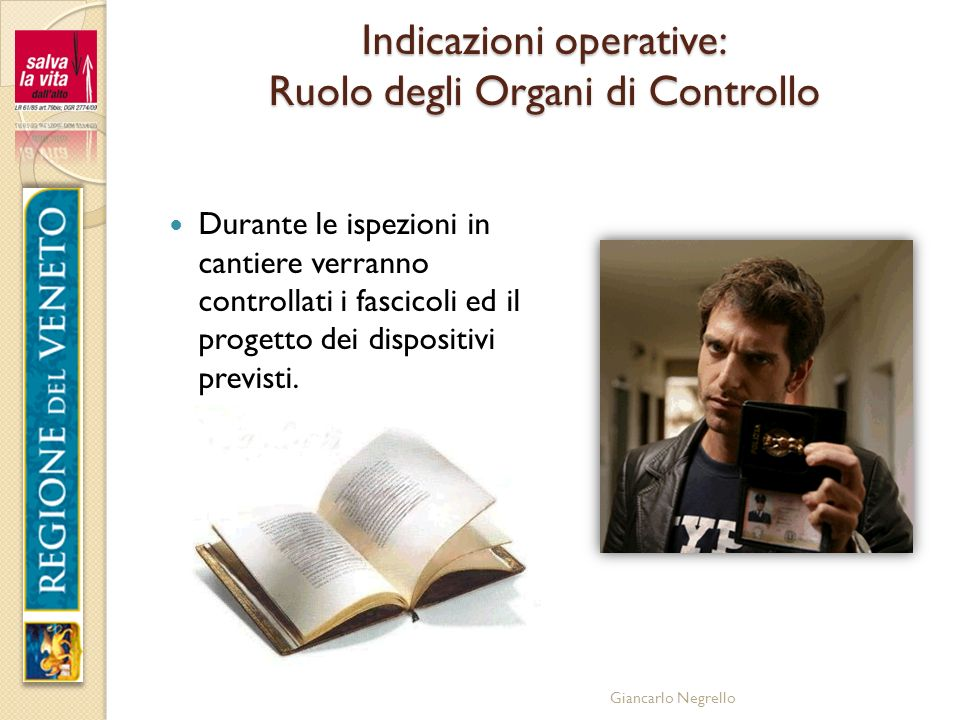 Indicazioni operative: Ruolo degli Organi di Controllo