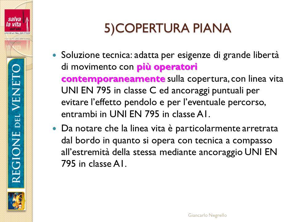 5)COPERTURA PIANA