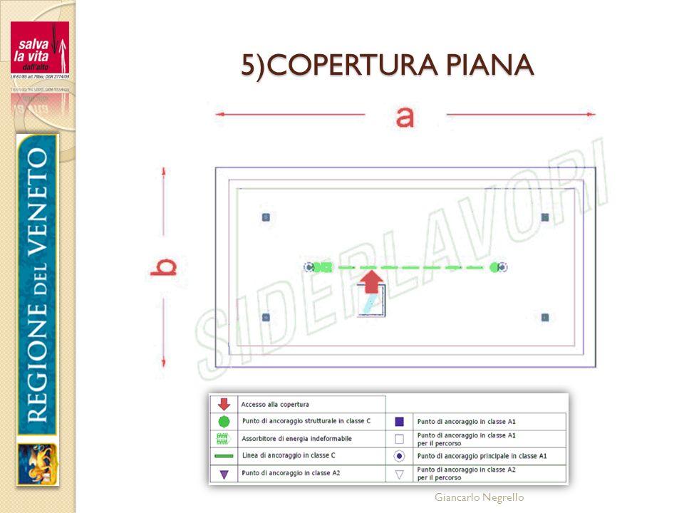 5)COPERTURA PIANA Giancarlo Negrello