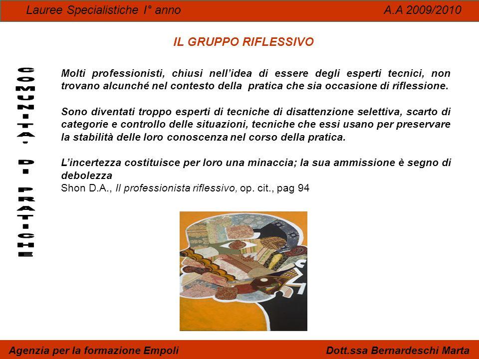 Agenzia per la formazione Empoli Dott.ssa Bernardeschi Marta