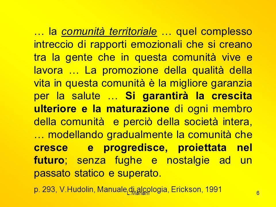p. 293, V.Hudolin, Manuale di alcologia, Erickson, 1991