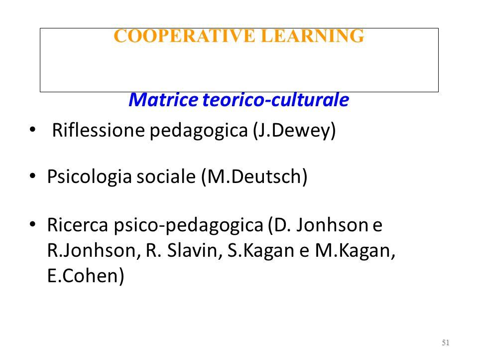 Matrice teorico-culturale