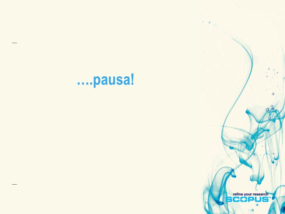 ….pausa!