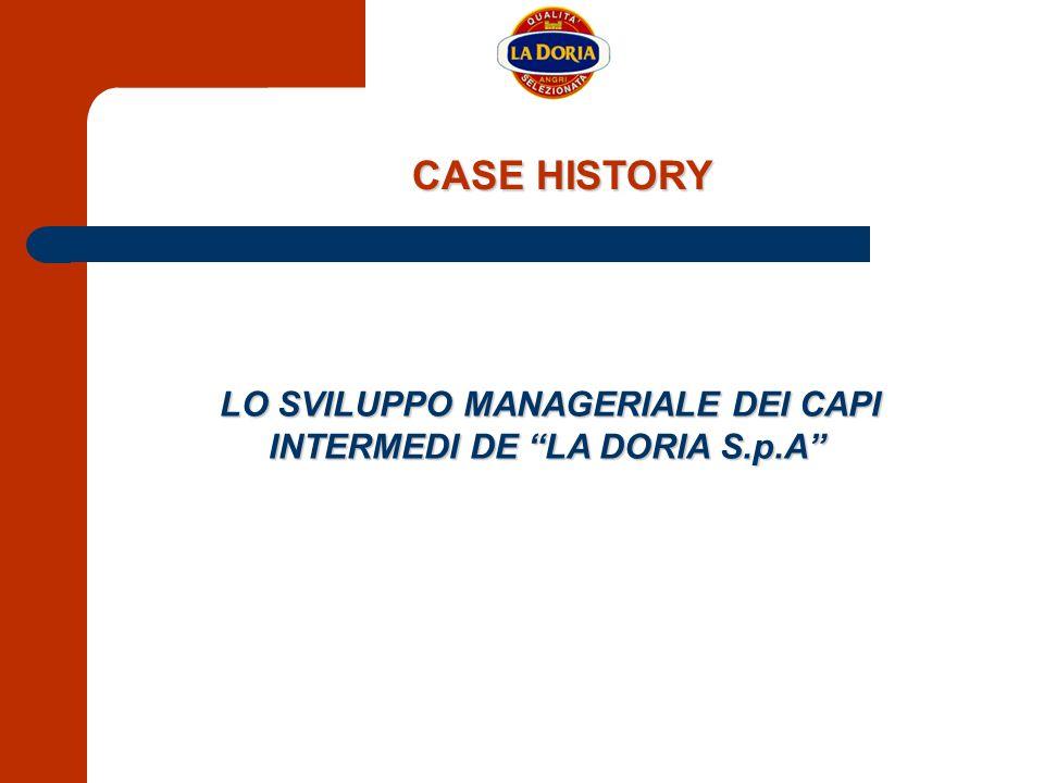 LO SVILUPPO MANAGERIALE DEI CAPI INTERMEDI DE LA DORIA S.p.A