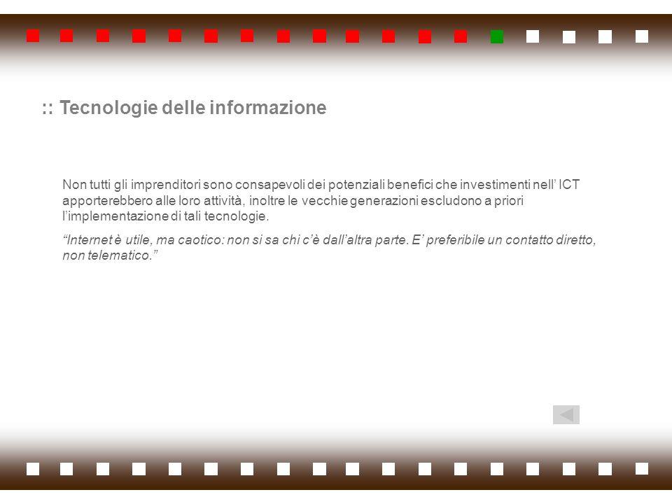 :: Tecnologie delle informazione