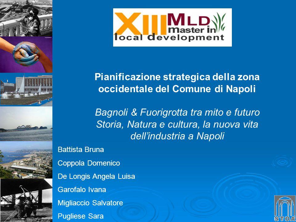 Pianificazione strategica della zona occidentale del Comune di Napoli