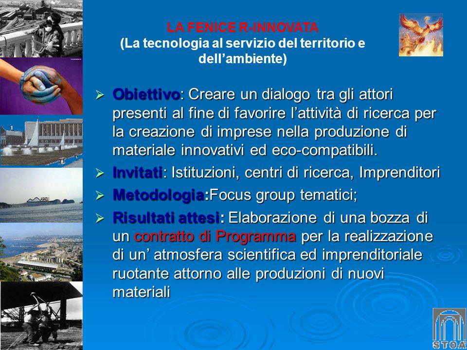 (La tecnologia al servizio del territorio e dell'ambiente)