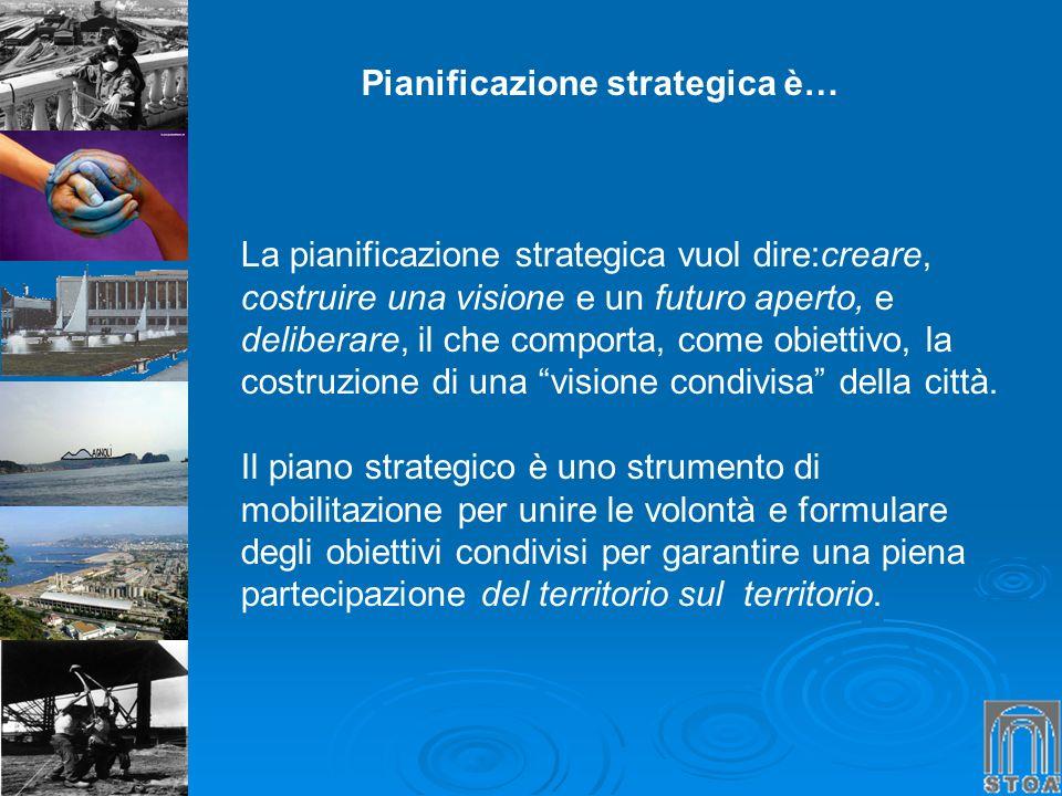 Pianificazione strategica è…