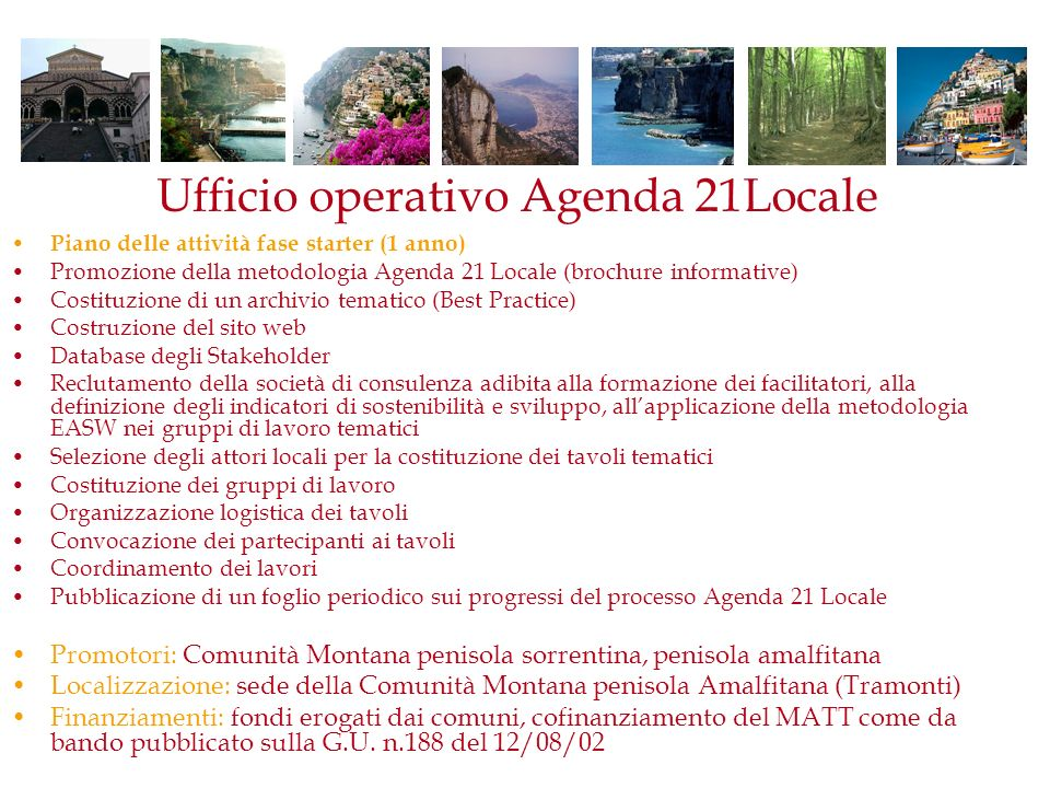 Ufficio operativo Agenda 21Locale