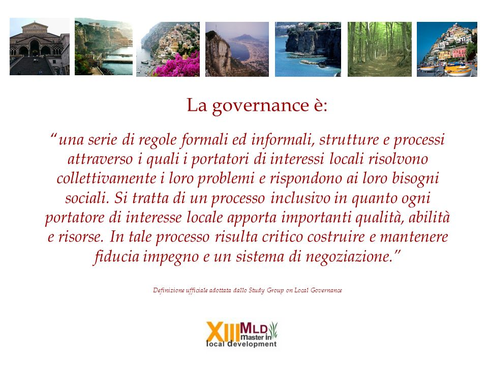 La governance è:
