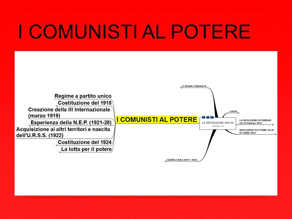 I COMUNISTI AL POTERE