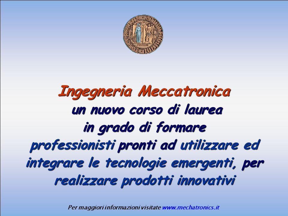 Ingegneria Meccatronica
