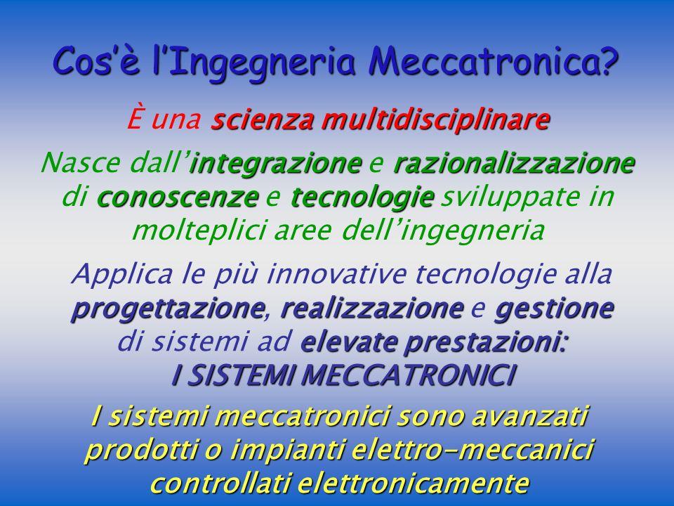 Cos'è l'Ingegneria Meccatronica