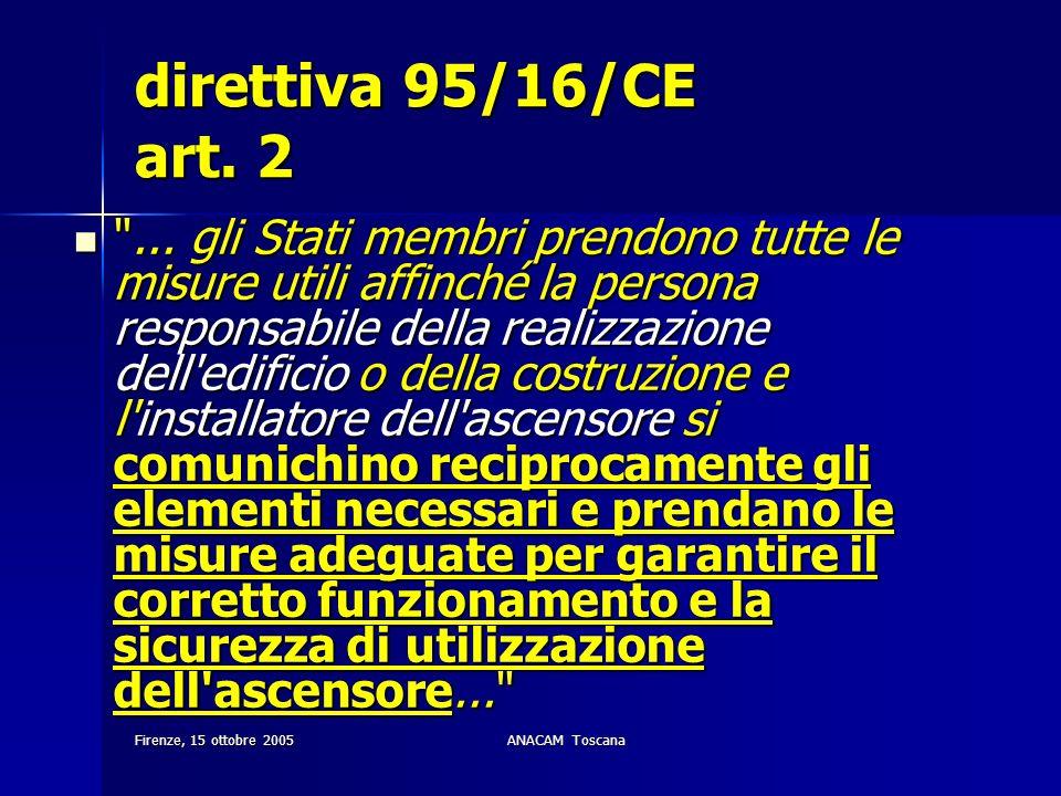 direttiva 95/16/CE art. 2
