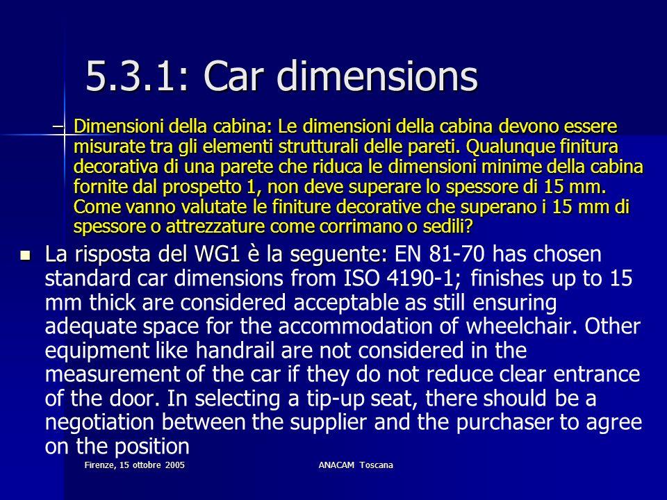 5.3.1: Car dimensions