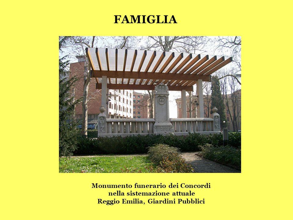FAMIGLIA Monumento funerario dei Concordi nella sistemazione attuale