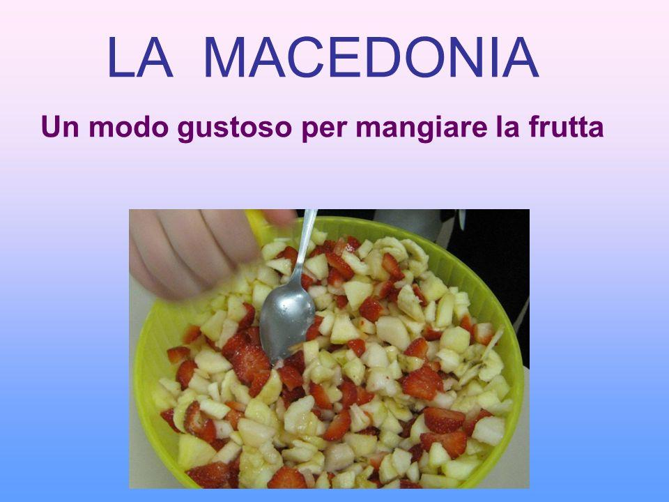 Un modo gustoso per mangiare la frutta