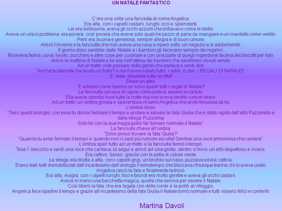 Martina Davoli UN NATALE FANTASTICO