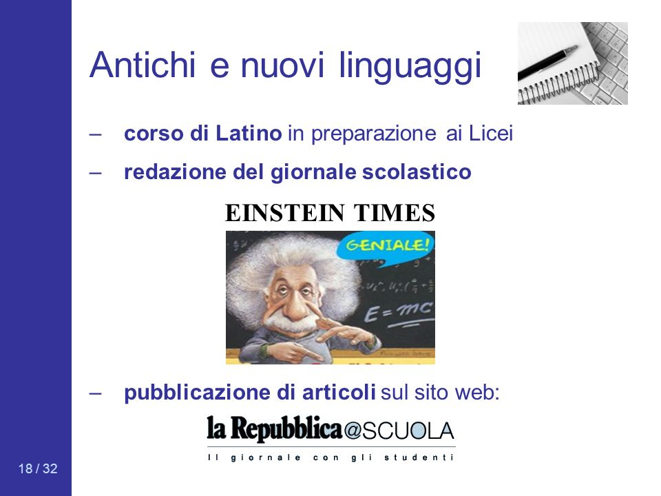 Antichi e nuovi linguaggi