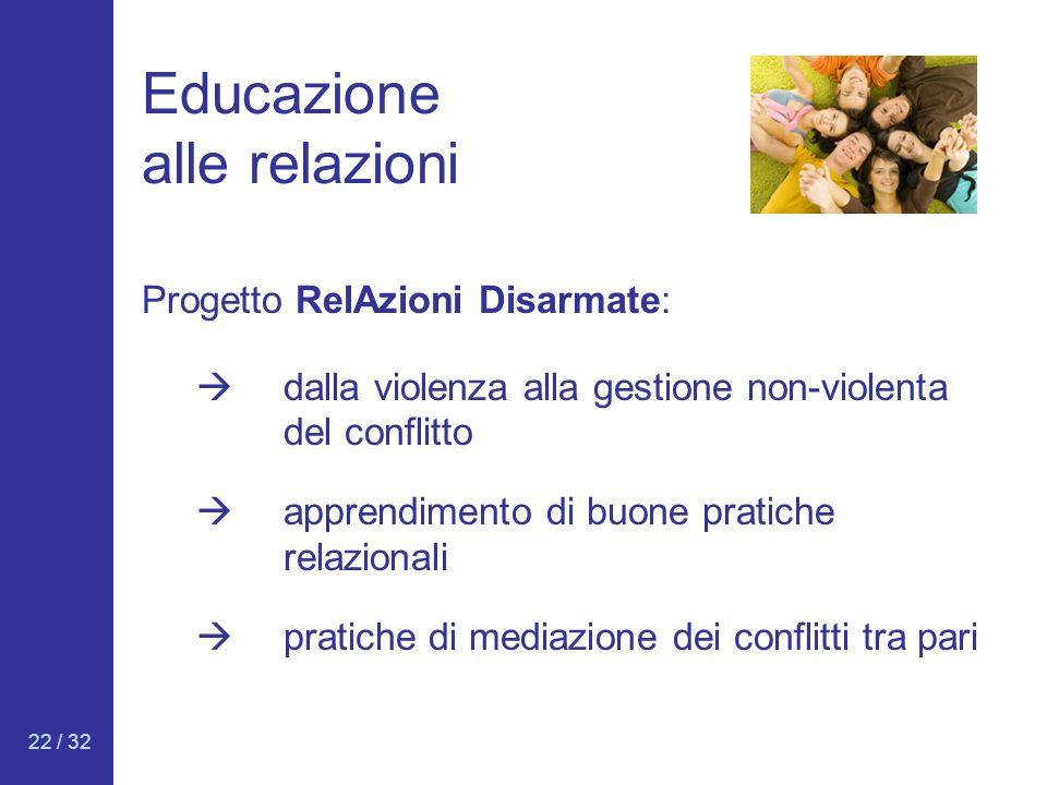 Educazione alle relazioni