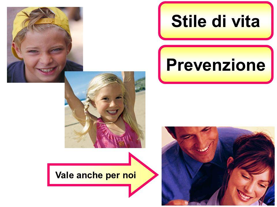 Stile di vita Prevenzione