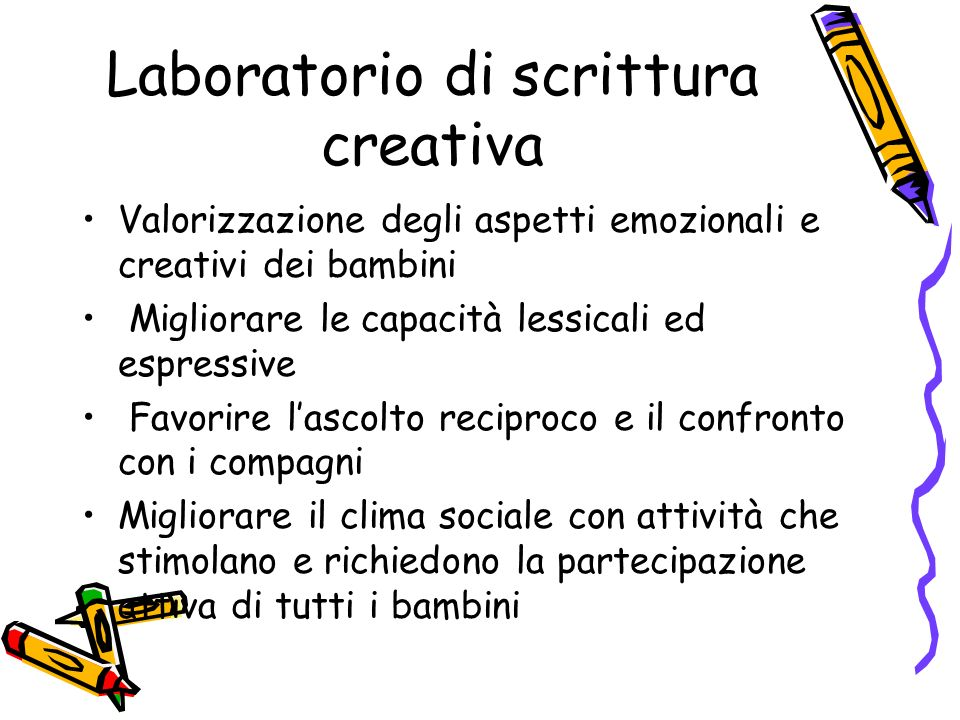 Super Laboratorio di scrittura creativa - ppt scaricare AQ49