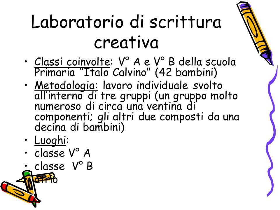 abbastanza Scrittura Creativa Scuola Primaria VB45 » Regardsdefemmes HT42