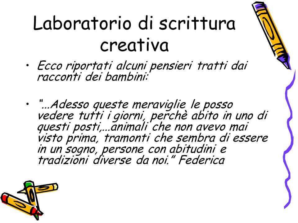 Laboratorio di scrittura creativa