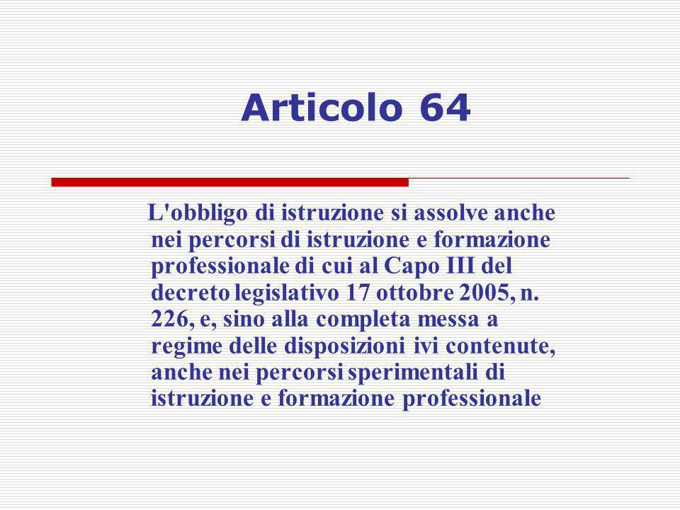 Articolo 64