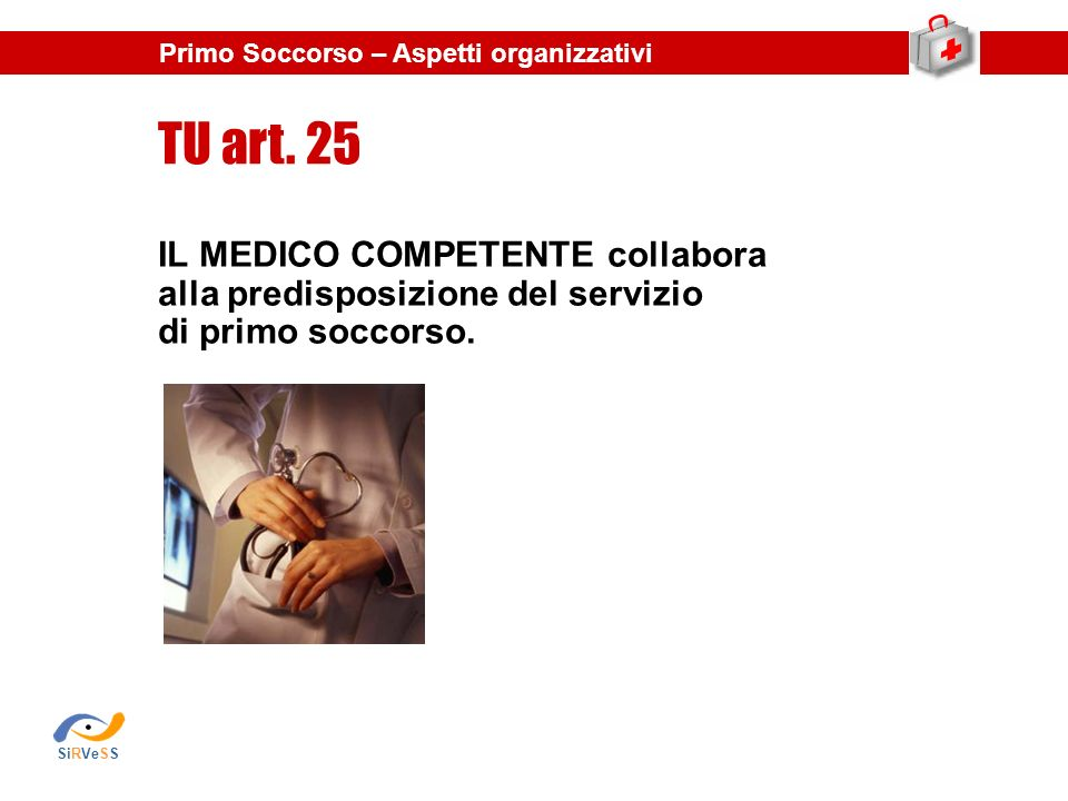 TU art. 25 IL MEDICO COMPETENTE collabora